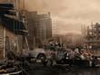 Zniszczone miasto