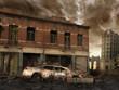 Zniszczona ulica