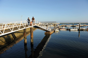 Puerto deportivo de Olhao, Algarve