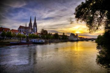 Regensburg abends