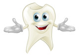 Cute tooth dental mascot - 45785852