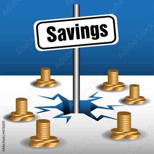 Savings plate