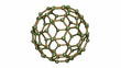 Seamless loop of Isolated Rotating C80 Carbon Fullerene