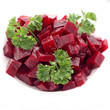 Salade de betteraves rouge