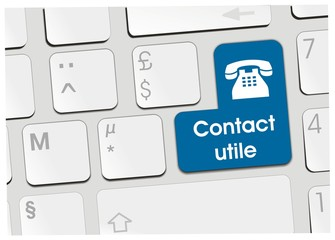 clavier contact utile