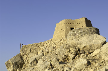 Arabian Fort in Ras al Khaimah United Arab Emirates