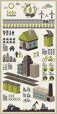 ecology vector elements poster