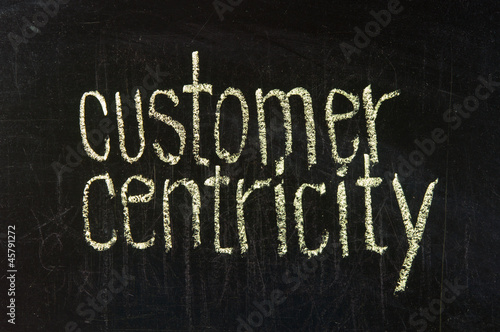 Customer, user centric concept