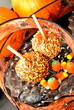 Halloween; Candied Caramel Apples