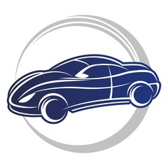 blu car logo