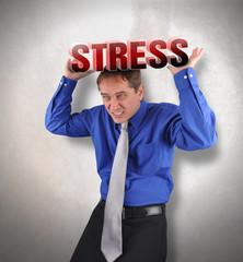 Stress Man Under Pressure