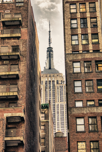 Poster New York City Manhattan Skyline
