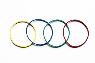 Elastic Band like olimpic games