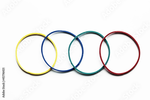 Elastic Band like olimpic games