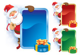 Santa Claus advertising