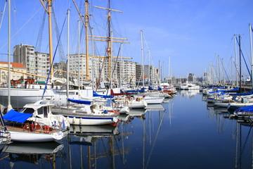 Jachthafen in Ostende