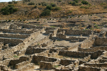 Ancient ruins of Kamiros, Rhodes - Greece