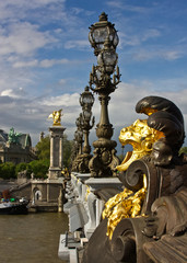 Paris's Pont Alexandre III and Grand Palais