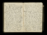 World War One Soldier's Diary Pages