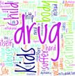 Kids Drug Abuse Concept