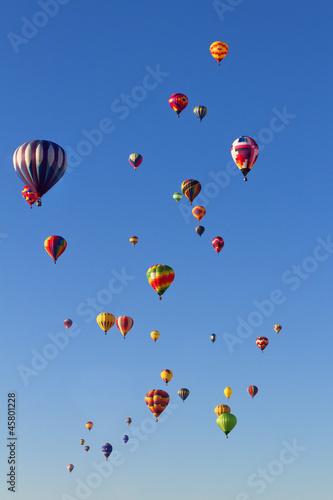 Foto op Aluminium Ballon Balloon Fiesta