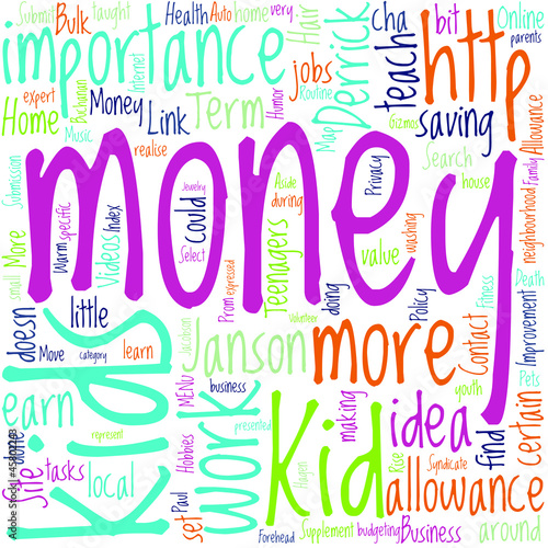 How Can Kids Make Money  Concept
