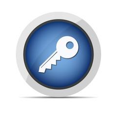 key web new blue button