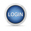 login web new blue button