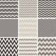 seamless zig zag patterns