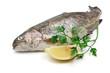 trota iridea - rainbow trout with lemon