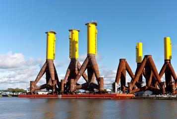 Fundamente, offshore