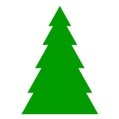 Vector illustration of fir tree background