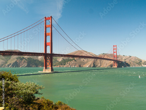 Pont du Golden Gate Bridge w San Francisco