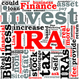 Retirement Implications for Self Directed IRA Investors Concept poster