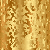 Vector golden abstract texture