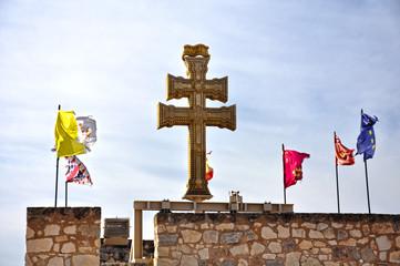 Monumento a la Cruz de Caravaca, devoción católica