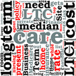 Preparing for Long Term Care Costs Concept