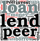 Top 5 Reasons to Invest With Peer to Peer Lending Concept poster