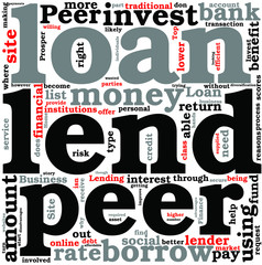 Top 5 Reasons to Invest With Peer to Peer Lending Concept