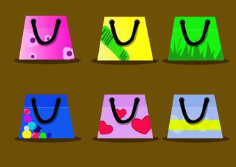 Shoppers vector