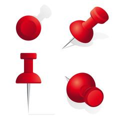Stecknadel rot Set