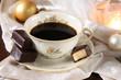 kaffee und baumkuchenspitzen