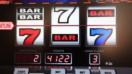 slot machine series, win bar
