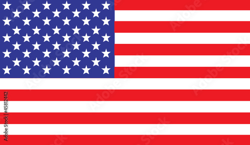 US, USA Flag