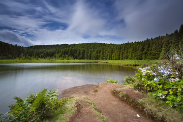 Paraíso nas ilhas Açoreanas