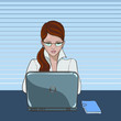 Woman_laptop