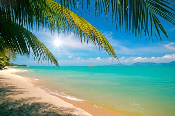 Tropischer Strand: Maenam Beach auf Koh Samui