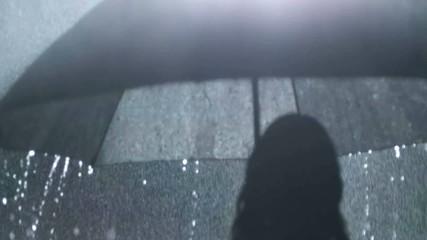 rainy girl