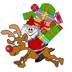 der wilde Ritt vom Weihnachtsmann