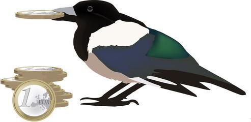 furto euro -theft euro